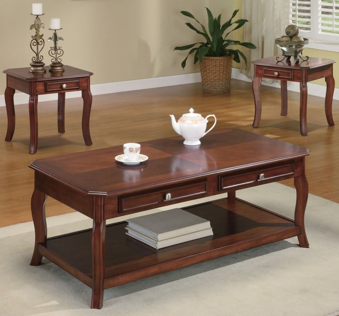 black and cherry coffee table set lachpage coaster end finish porter side sofa design tures standard dining room size stickley furniture jobs modern cocktail tables ash gray