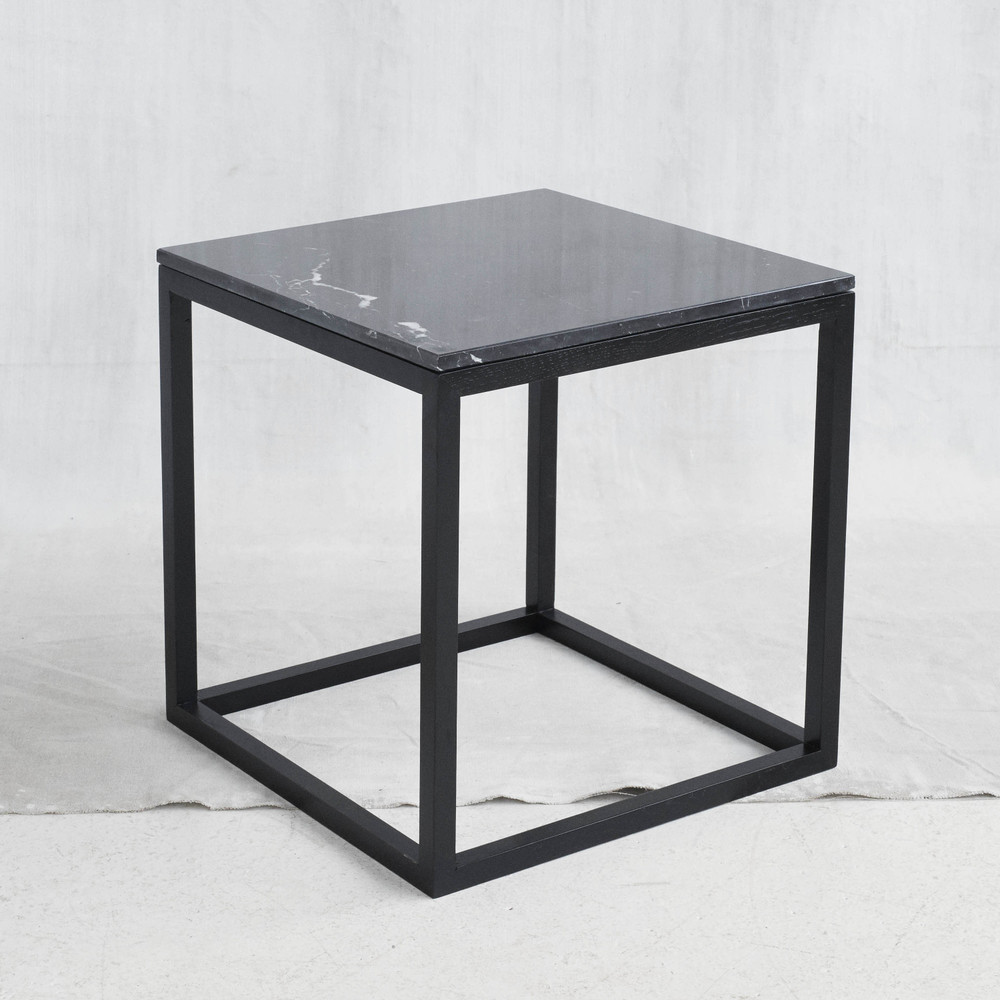 black cube table decovry kristina dam end distressed oak coffee lamps and floor circle nightstand side tables large double dog crate bedroom office plexiglas brown leather accent