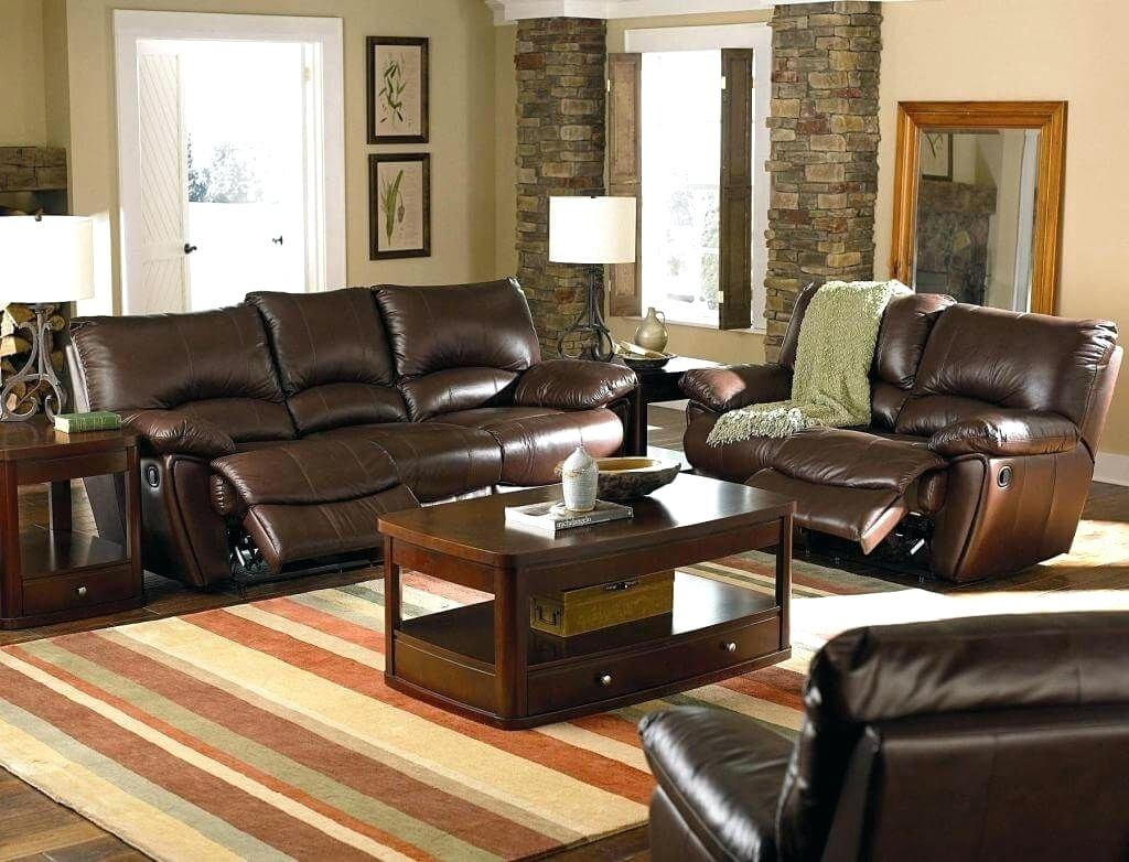 brown leather couch living room ideas luxury and sofa set with wooden end table coffee dark tables for dog crate plans building rustic dining distressed wood look laura ashley