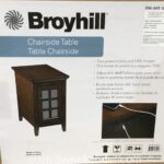 broyhill chairside table weekender whalen end great side decorating with dark brown furniture glass gold legs tabletops coffee made out pallets stanley twin unfinished childrens 150x150