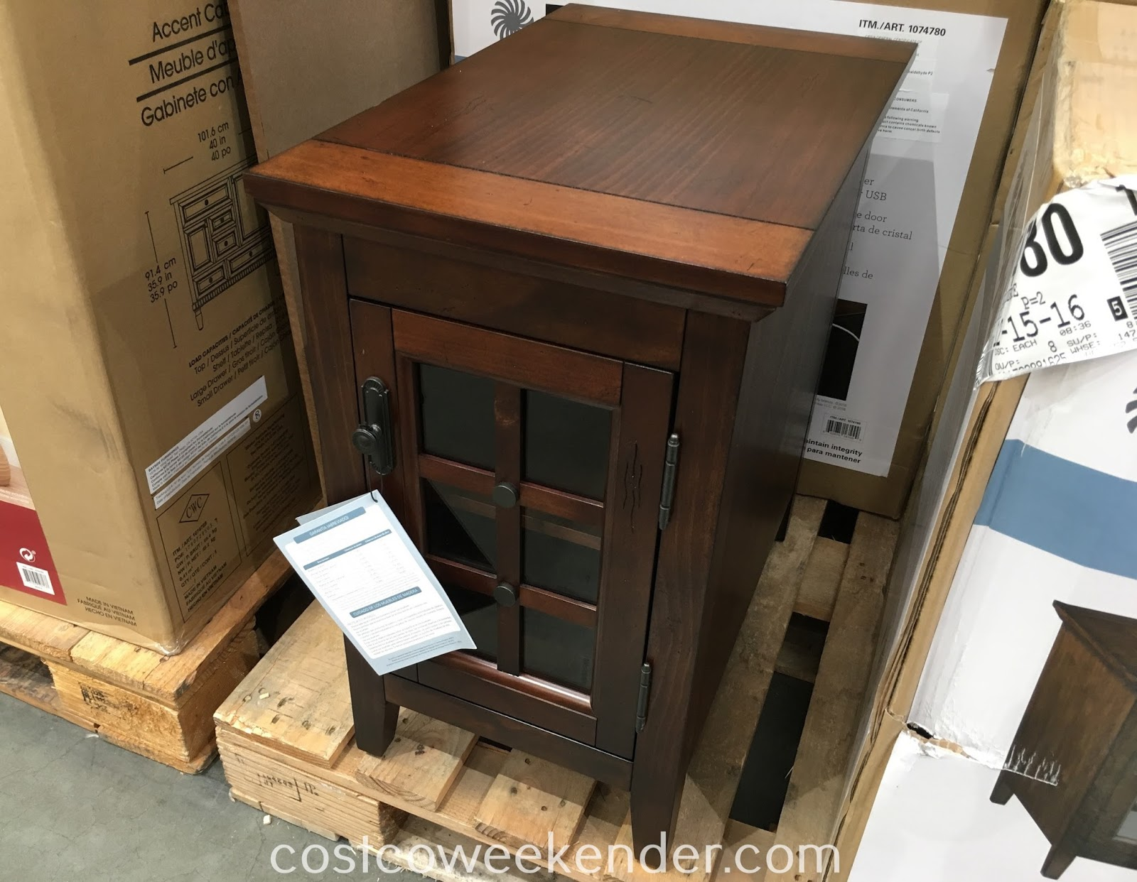 broyhill chairside table weekender whalen end the versatile your home living room family acme housing ethan allen console cabinet copper top tree coat rack magnussen ashby