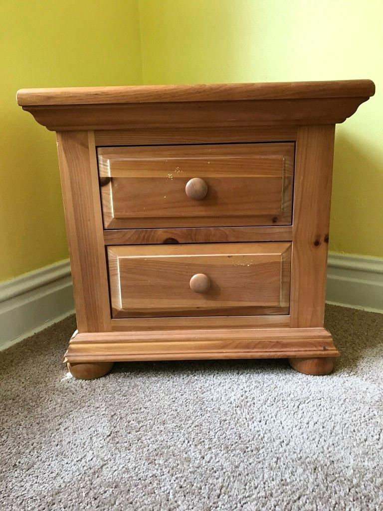 broyhill fontana nightstand used for triple dresser with mirror highboy pine end table contemporary wood coffee tables and outdoor christmas lights large pallet wicker chair