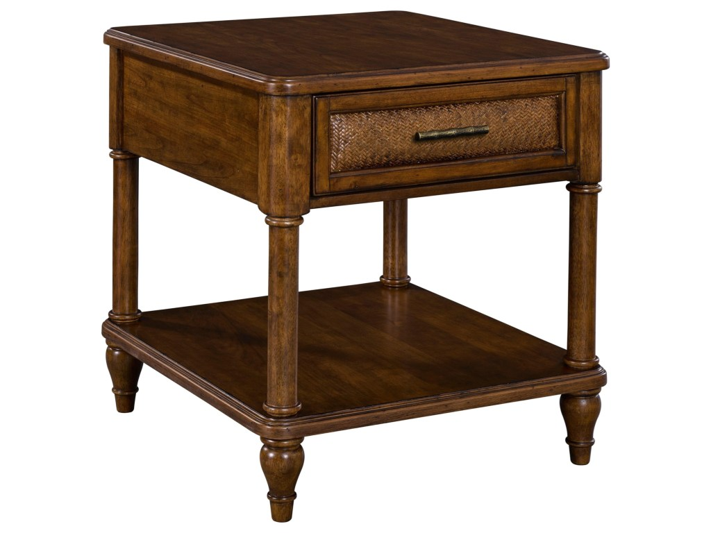 broyhill furniture bay drawer end table with products color tables bayend diy plum pipe legs best rugs for brown couches round glass dining room italian parsons audio outdoor