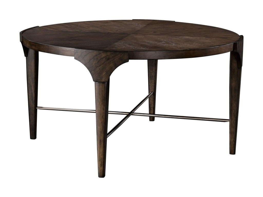 broyhill furniture zachary modern round cocktail table with chrome products color coffee and end tables zacharyround carpet for dark brown sofa primitive accent skirt summerhill