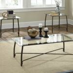 burmesque glass coffee and end table set occasional tables magnolia home area rugs dog crates for large dogs old ethan allen collections mestler square patio side oak narrow 150x150