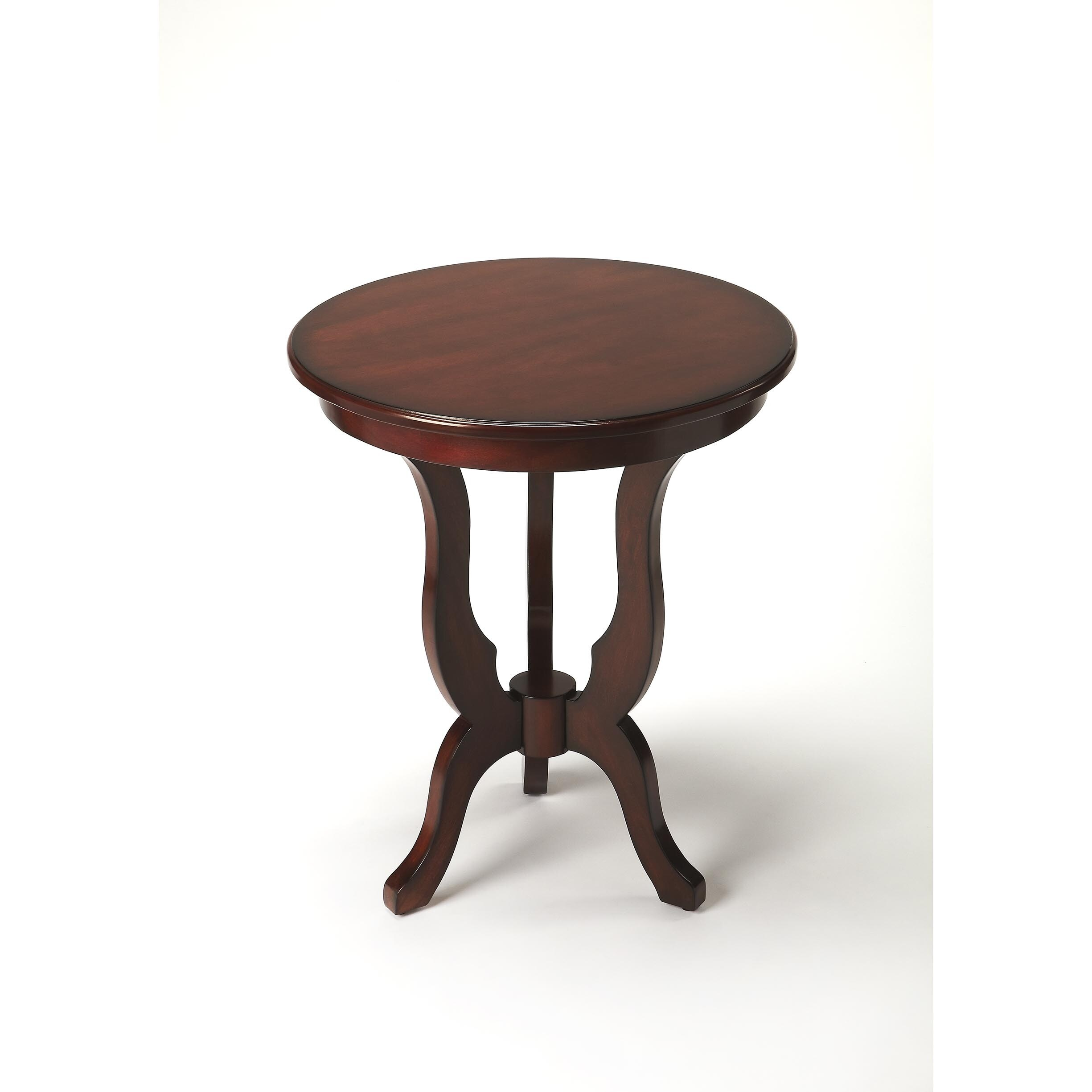 butler cleasby plantation cherry finish wood end table round free shipping today glass top couch kartell side arch coffee macys furniture recliner chairs catalina nightstand