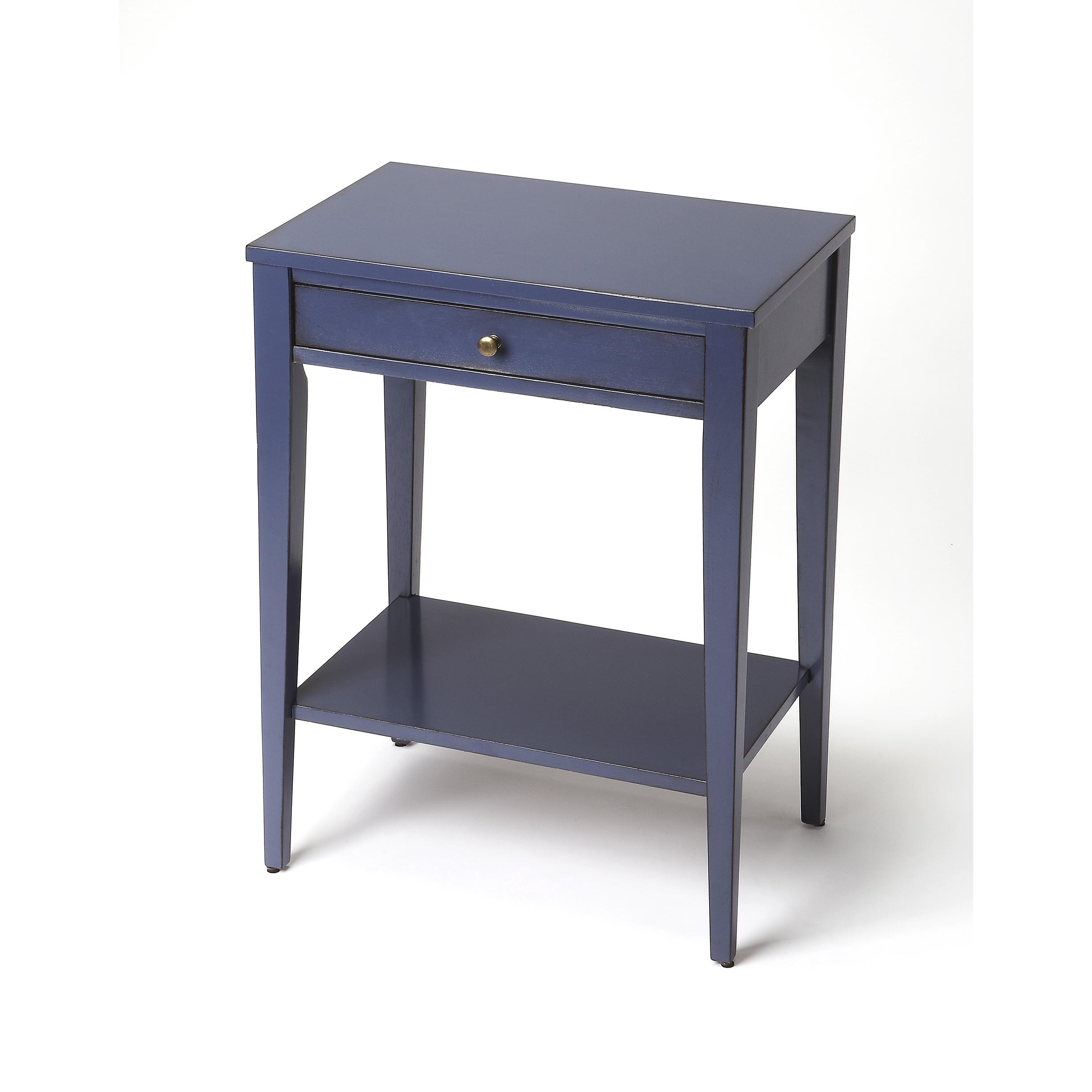 butler cobble hill navy blue console table free end shipping today round marble cocktail placement small glass and wood coffee white cottage outside garden furniture dining room