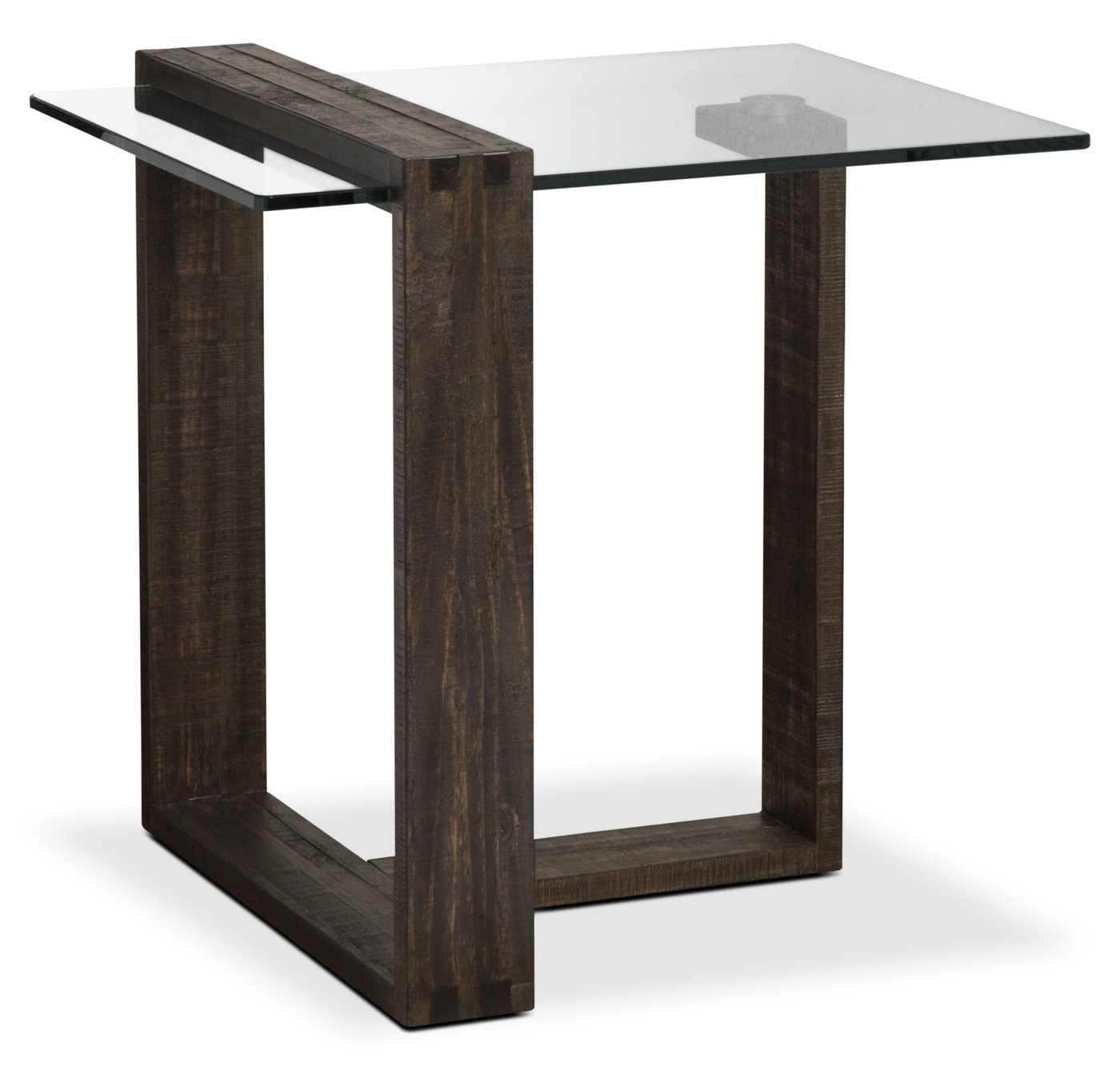 calistoga modern end table the brick tables bout moderne tap expand night liberty ocean isle dining set conduit furniture sauder hardware traditional square coffee steel pipe legs