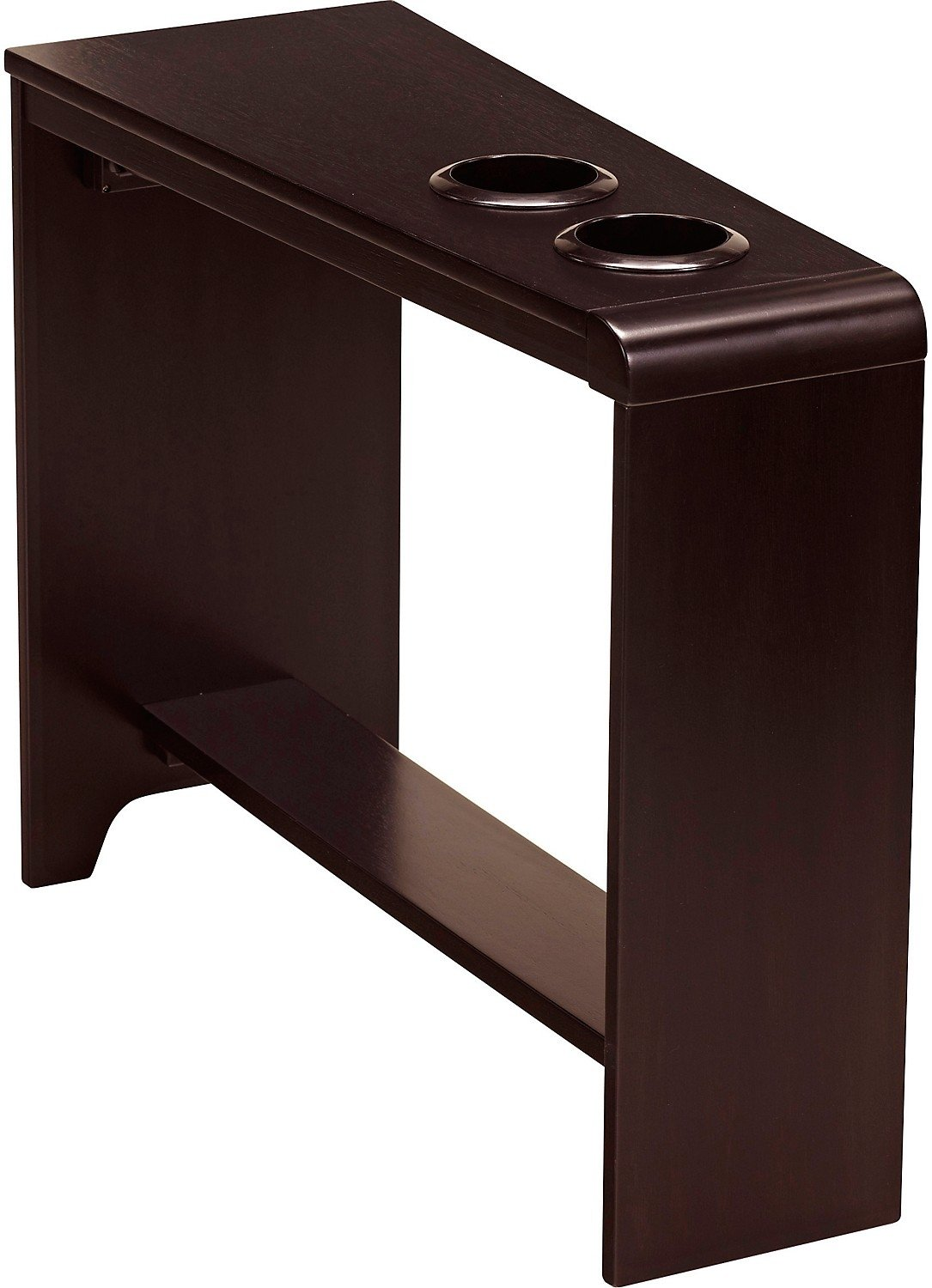 carlyle accent table the brick wedge end espresso finish tap expand small space nightstand modern dog beds furniture glass nesting tables set decorating over couch ashley chaise