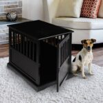 casual home small pet dog crate end table black kitchen wide console iron living room furniture well made bedroom traditional coffee legs mainstays shelf bookcase instructions 150x150