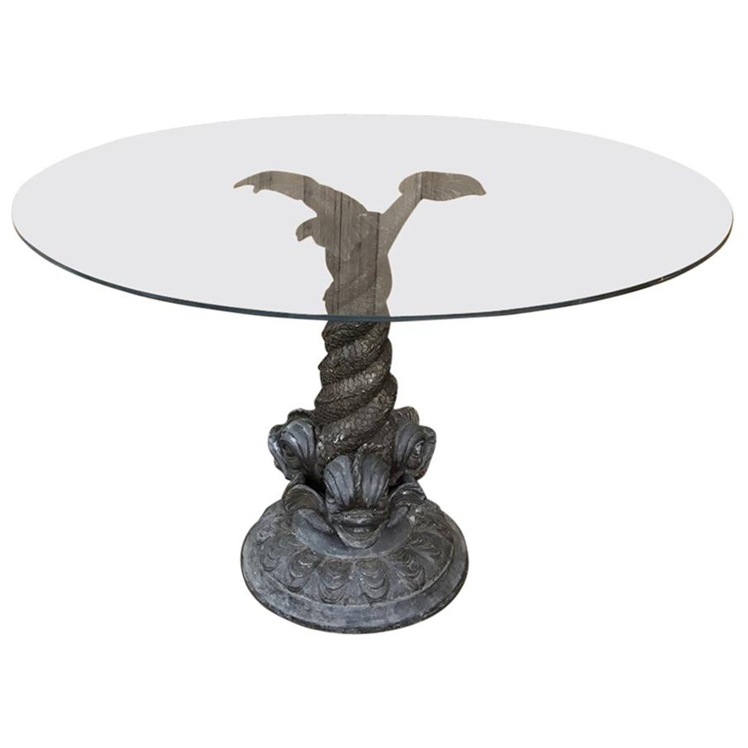 century bronze dolphin glass top coffee table for master end folding sofa homemade wooden dog dining with chairs homesense locations toronto patio rosewood pallet yard furniture