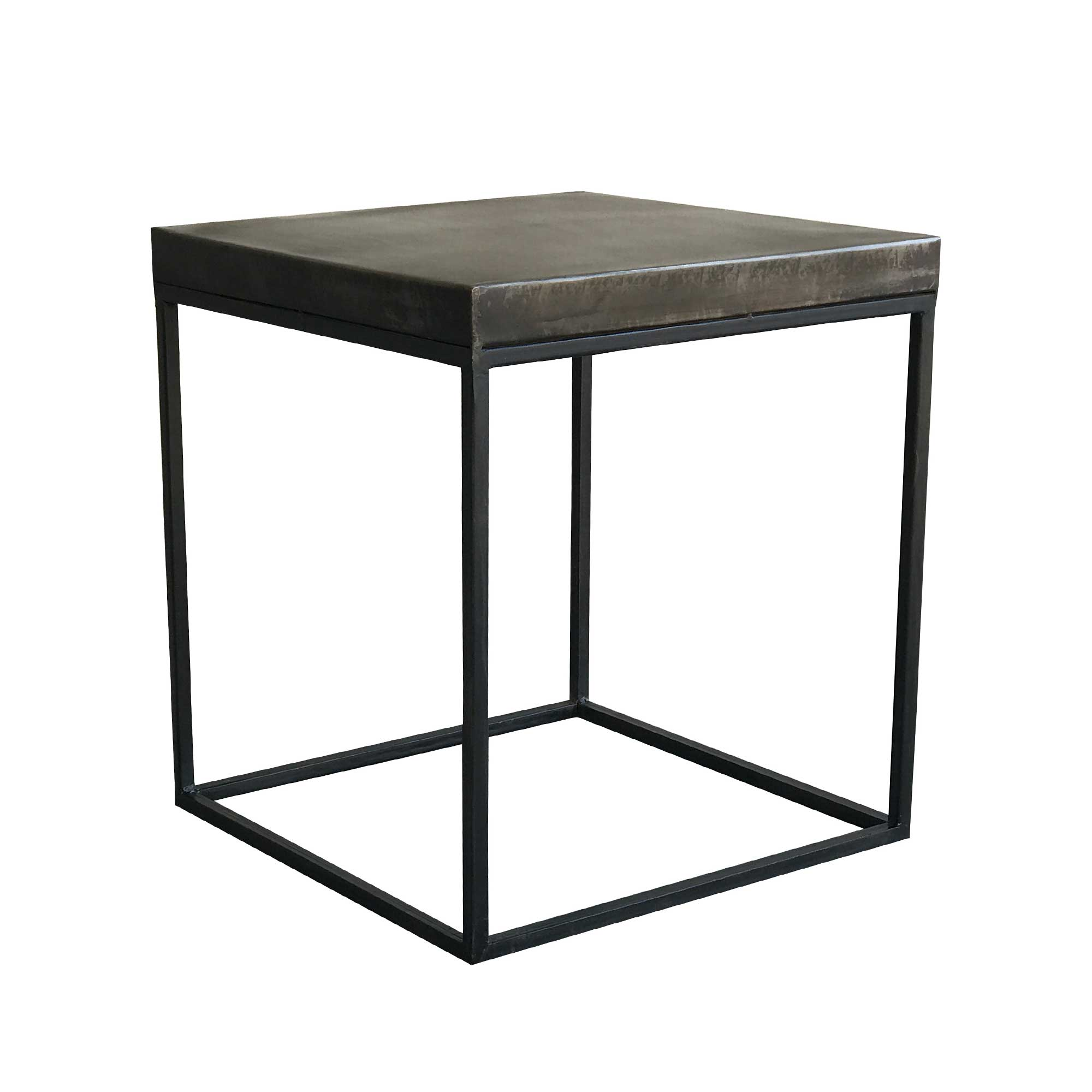 clipper industrial side table metal barker stonehouse zoom coffee tables and end black narrow bedside night stand versailles sofa furniture custom glass tops for contemporary base