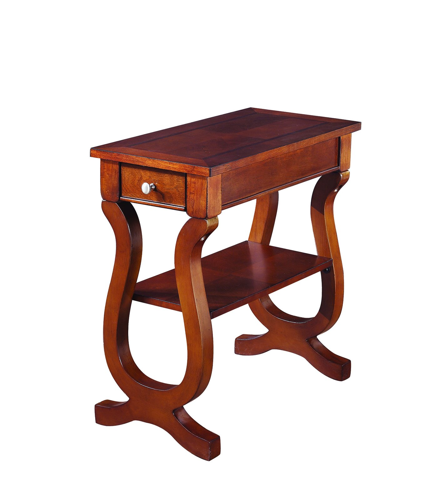 coaster accent tables cherry rectangular chairside table end finish lasvegasfurniture universal furniture console standard dining room size modern contemporary square coffee