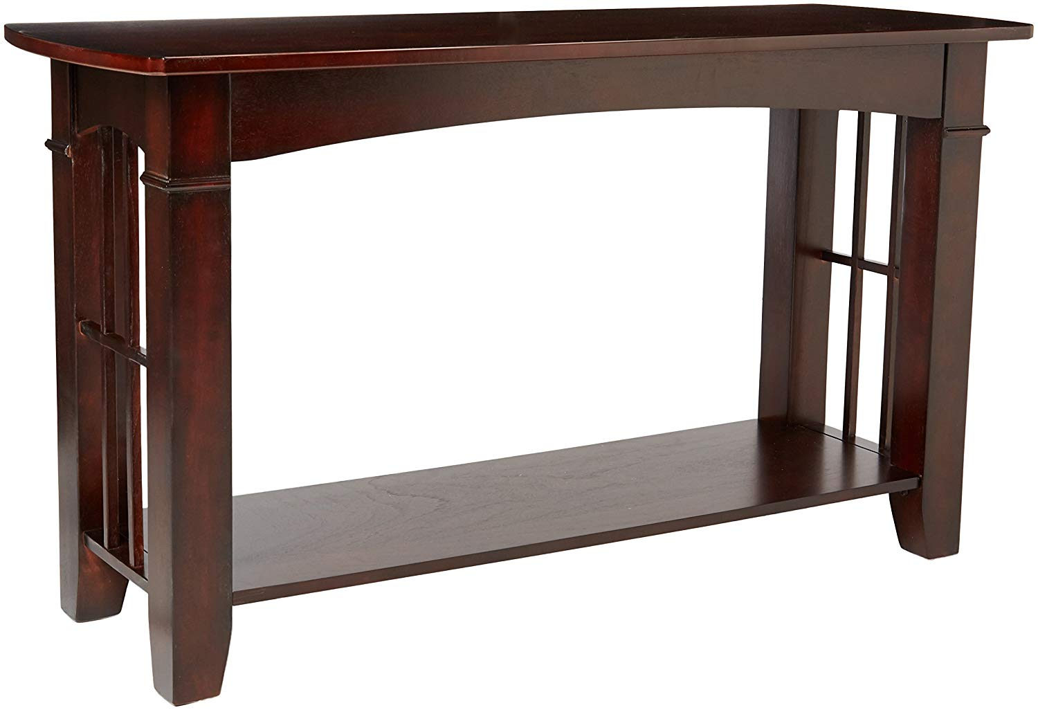 coaster home furnishings abernathy end table with shelf cherry finish merlot kitchen dining green lamp ash gray coffee gold and marble side unpainted wooden benches ethan allen