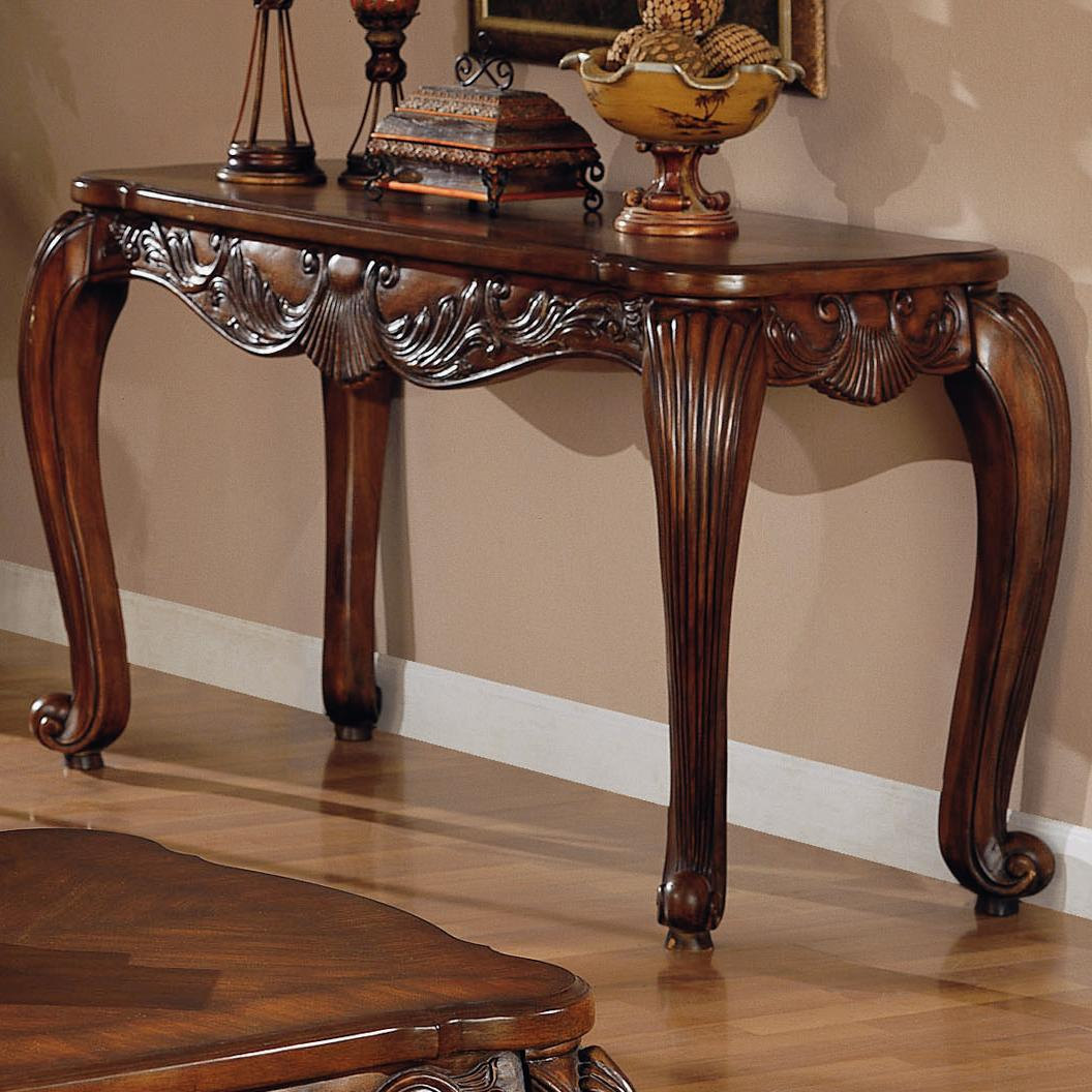 coaster venice traditional sofa table fmg local home furnishing products color end cherry finish small narrow side long living room layout distressed oak protector kmart mirror