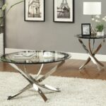 cocktail table tempered glass top home vision board end tables contemporary round coffee small side set macys furniture catalog replacement for patio bar ashley loft with storage 150x150