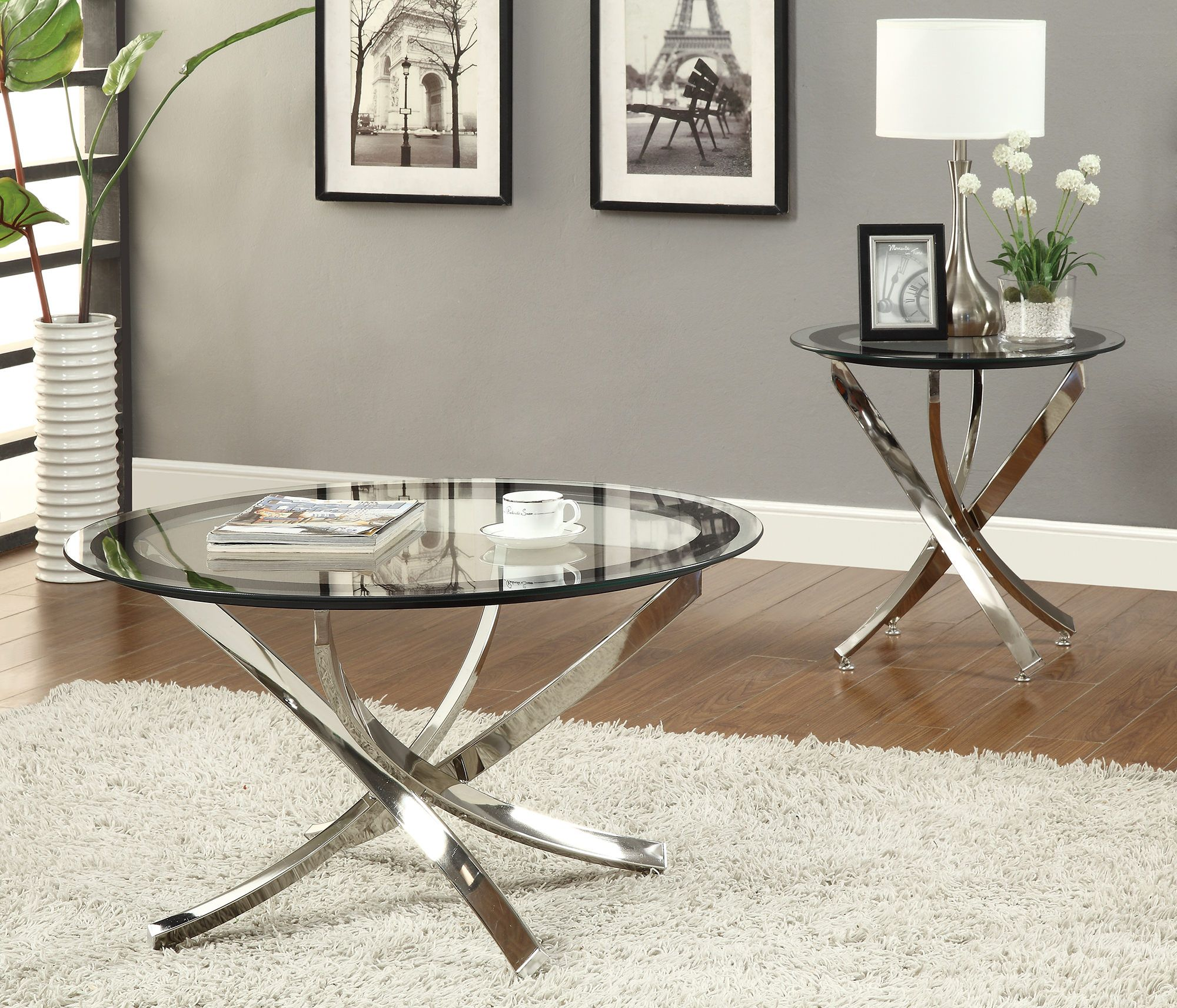 cocktail table tempered glass top home vision board end tables contemporary round coffee small side set macys furniture catalog replacement for patio bar ashley loft with storage