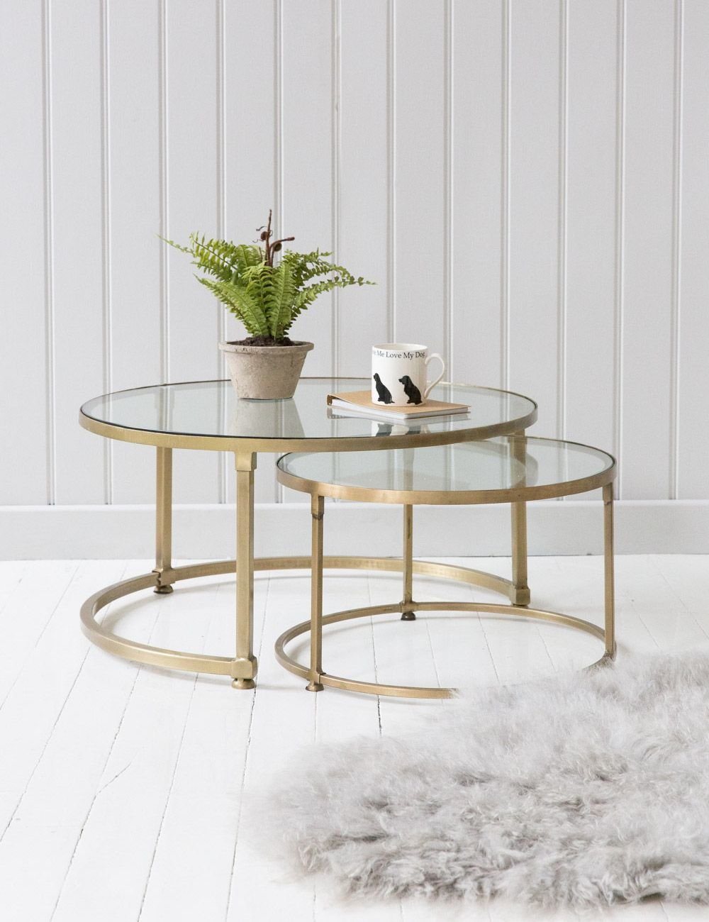 coco nesting round glass coffee tables house decor end table stacking set more stone modern black homesense boxing day kmart furniture clearance leopold stickley keepsakes pulaski