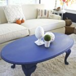 coffee table makeover napoleonic blue chalk paint bees pod img painted end tables luxury dining room industrial pipe console lexington sofa macys concord furniture crate 150x150