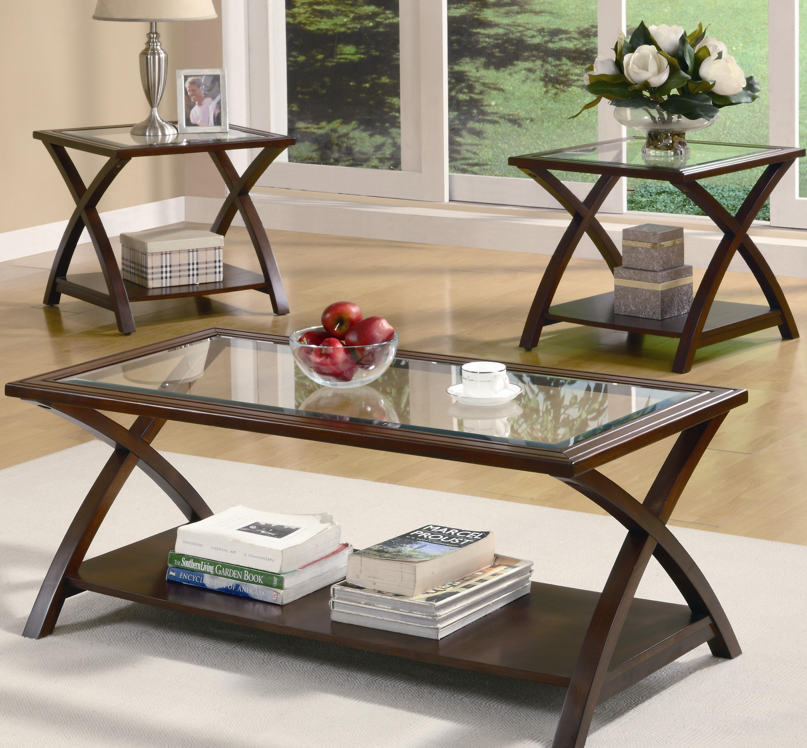 coffee tables and end glendale star furniture brown glass casual occasional group sauder parts tall white table base kits lazy boy website thomasville office laura ashley purple