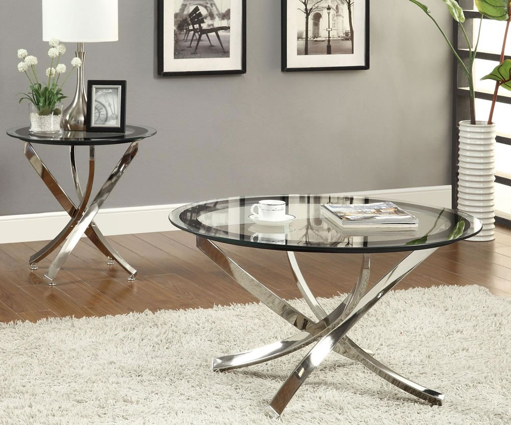 coffee tables for small rooms spaces furniture oval glass top mirrored table with stainless steel cross legs white end universal brand colour inch round oak side drawer slate sofa