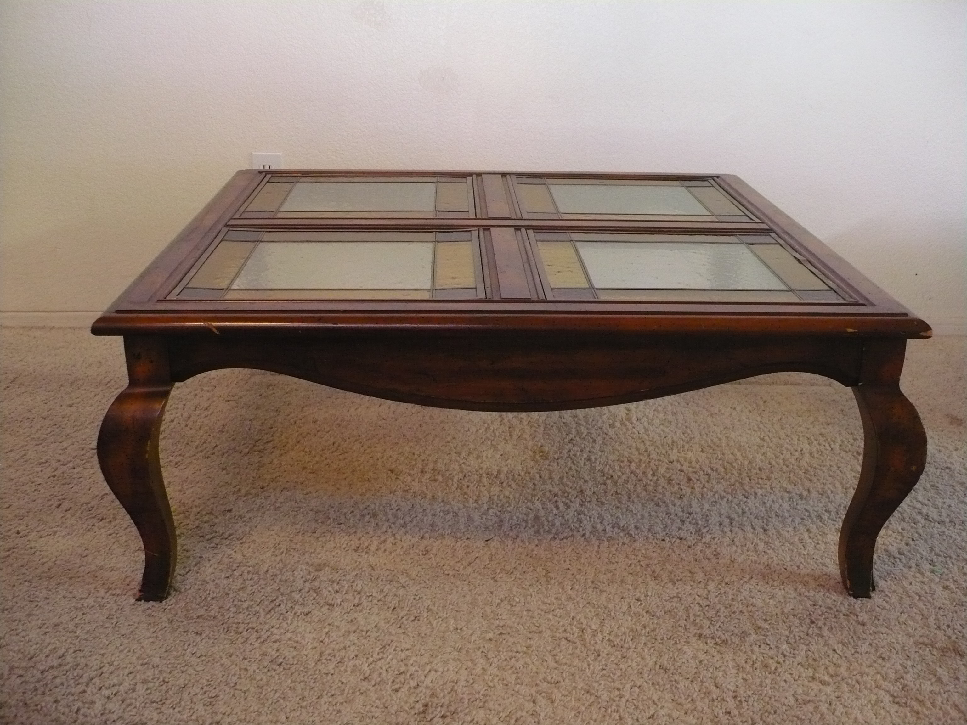coffee tables furniture finds table stained glass end share this industrial nightstand diy liberty ocean isle collection ethan allen american impressions dining oriental nesting