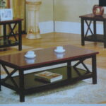 coffee tables ideas modern table and end set ashley rich dark mocha contemporary wood furniture curved metal legs dining room designs paula deen sauder shoal creek bedroom antique 150x150