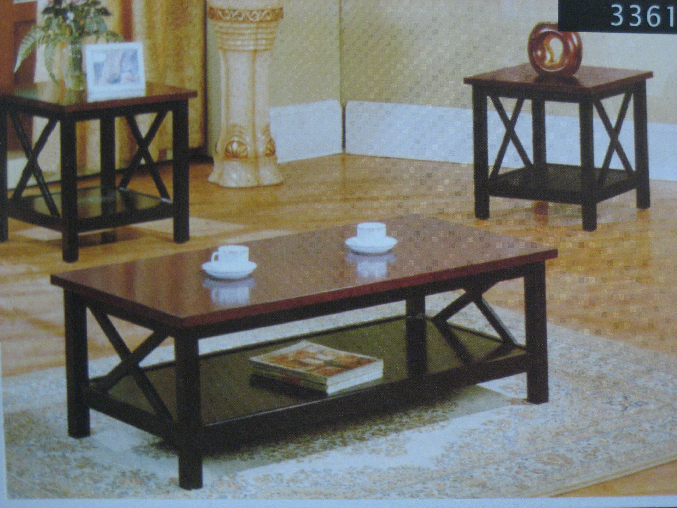 coffee tables ideas modern table and end set ashley rich dark mocha contemporary wood furniture curved metal legs dining room designs paula deen sauder shoal creek bedroom antique