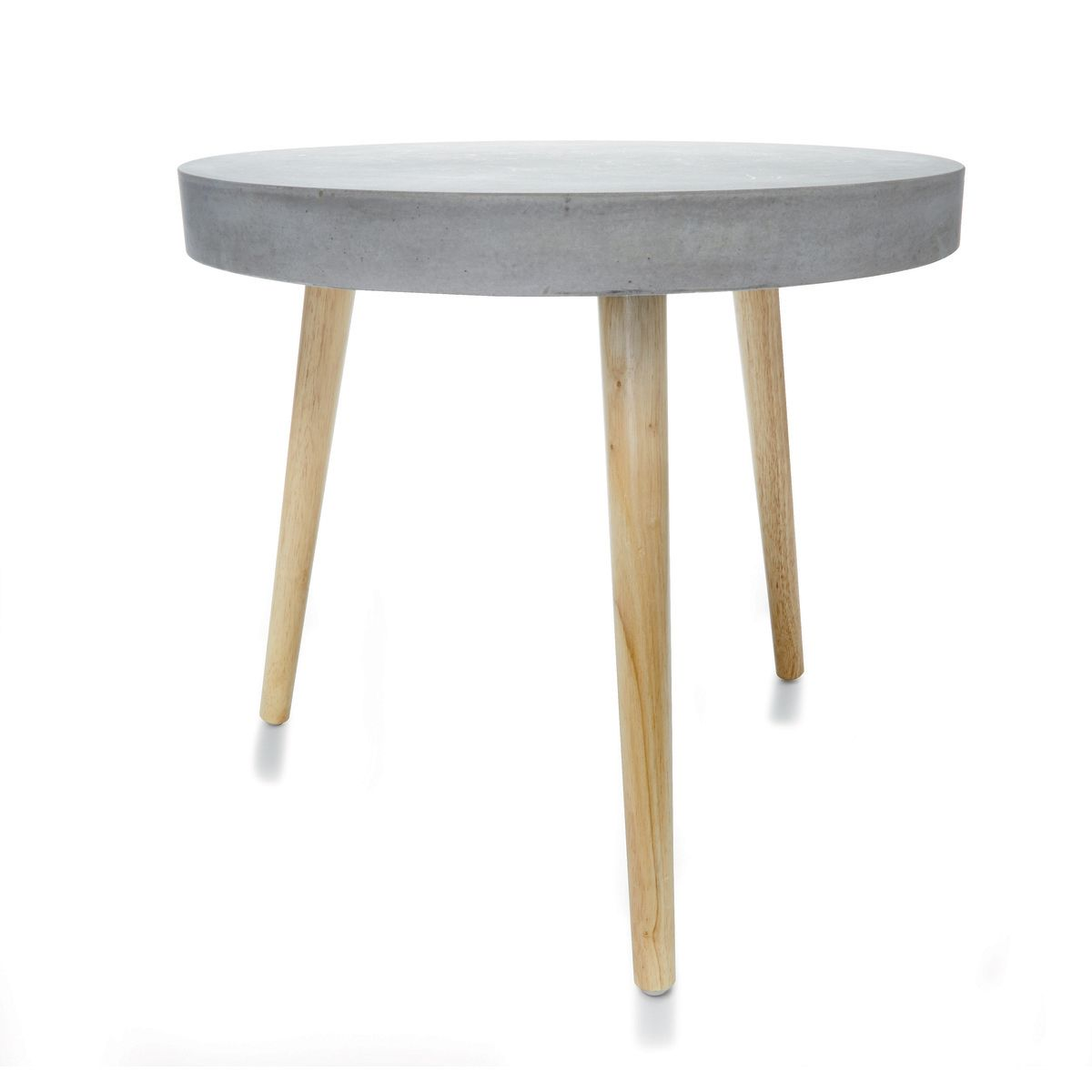 concrete side table kmart home wishlist tables furniture end vintage glass round seagrass coffee reclining deck chair elephant base stackable patio navy bedside white washed wood