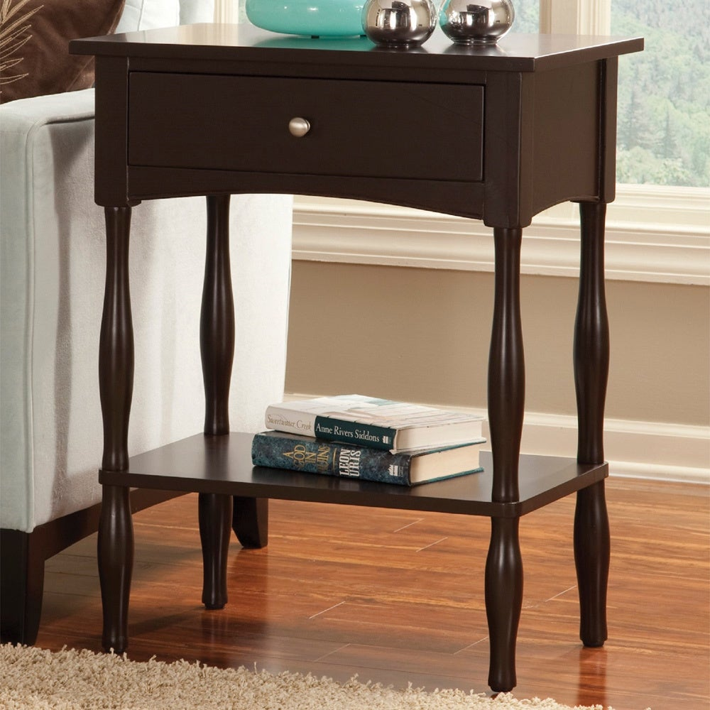copper grove exeter inch chocolate end table home brown fair haven tables free shipping today diy pallet console target dresses small oval lift top cocktail ashley furniture white