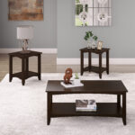 corliving cambridge solid wood two tiered coffee table and end tables set steve silver troy round cherry stainless dog crate uttermost gannon chair side with storage modern lamps 150x150