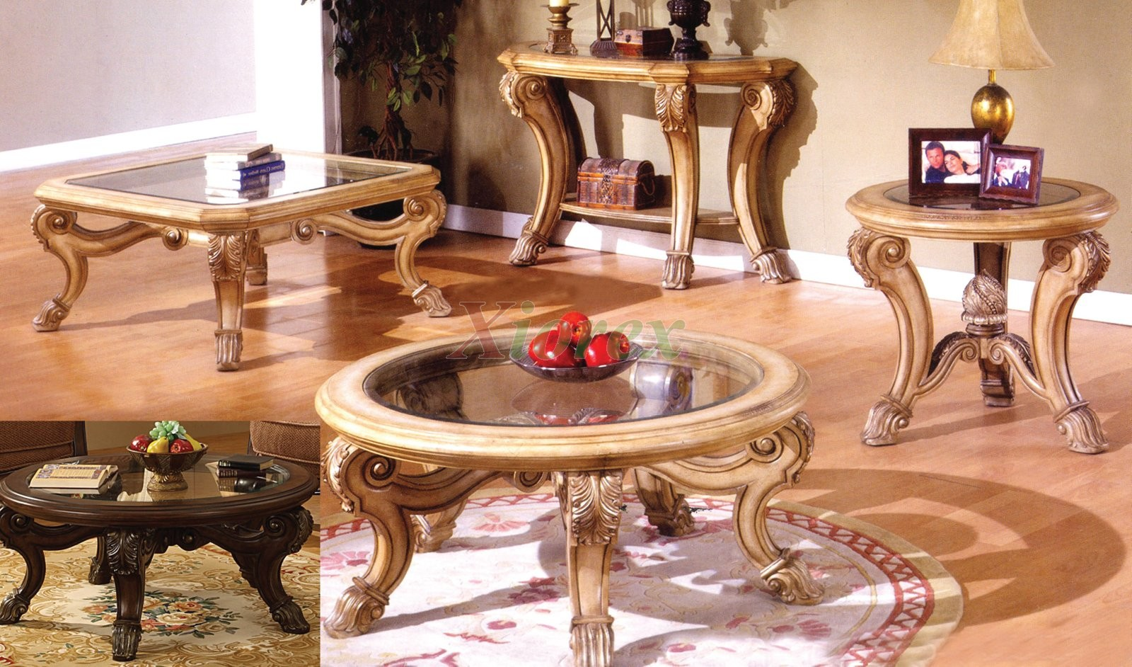 corvi glass top coffee table sets mississauga xiorex with saber legs matching end tables big round build nightstand painting ethan allen armchair home office furniture