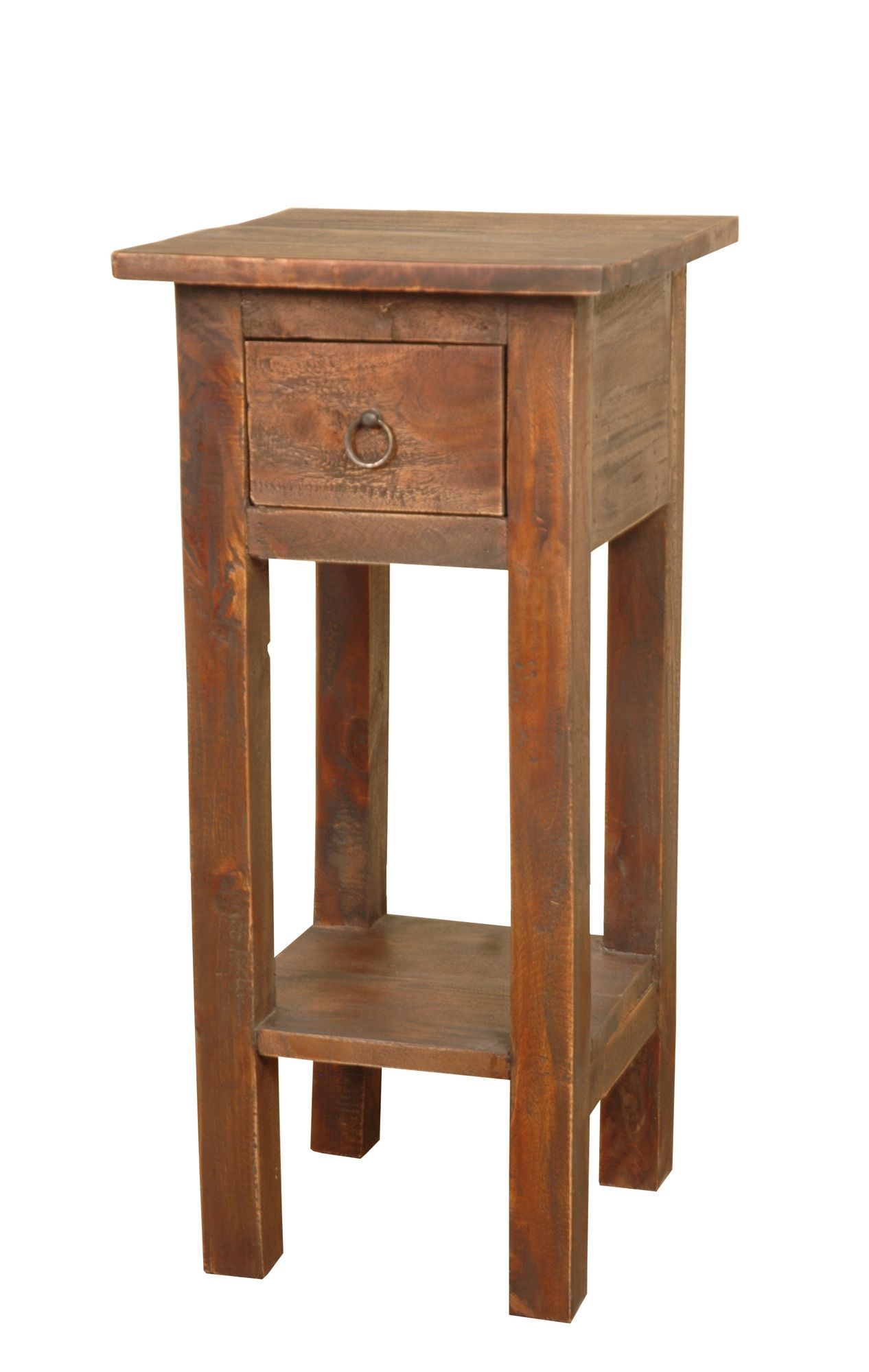 cottage narrow side table oak sunset trading home gallery bedroom end tables unfinished corner furniture ashley free shipping promo code stickley houston family room coffee decor