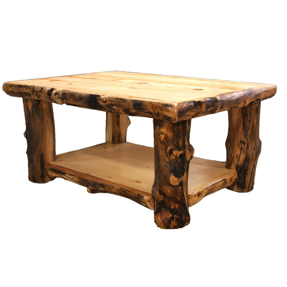country western rustic cabin wood table living room decor stump coffee log and end tables large colorful small whalen furniture vineyard dining collection thomasville showroom