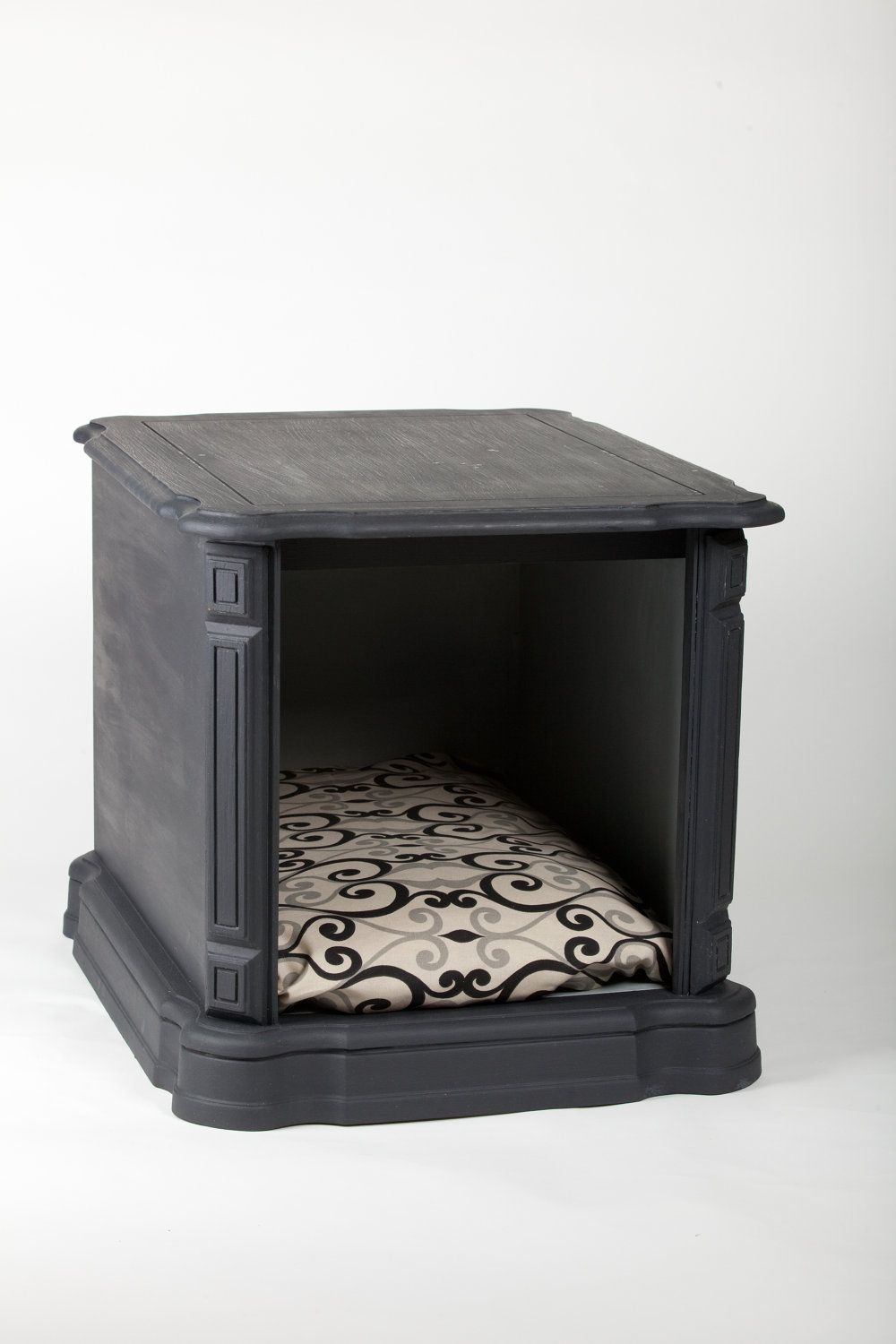 cozy pet end table nightstand products for the spoiled another doggie inspiration piece vintage turned can use top regular night stand placing next centerpieces dining room