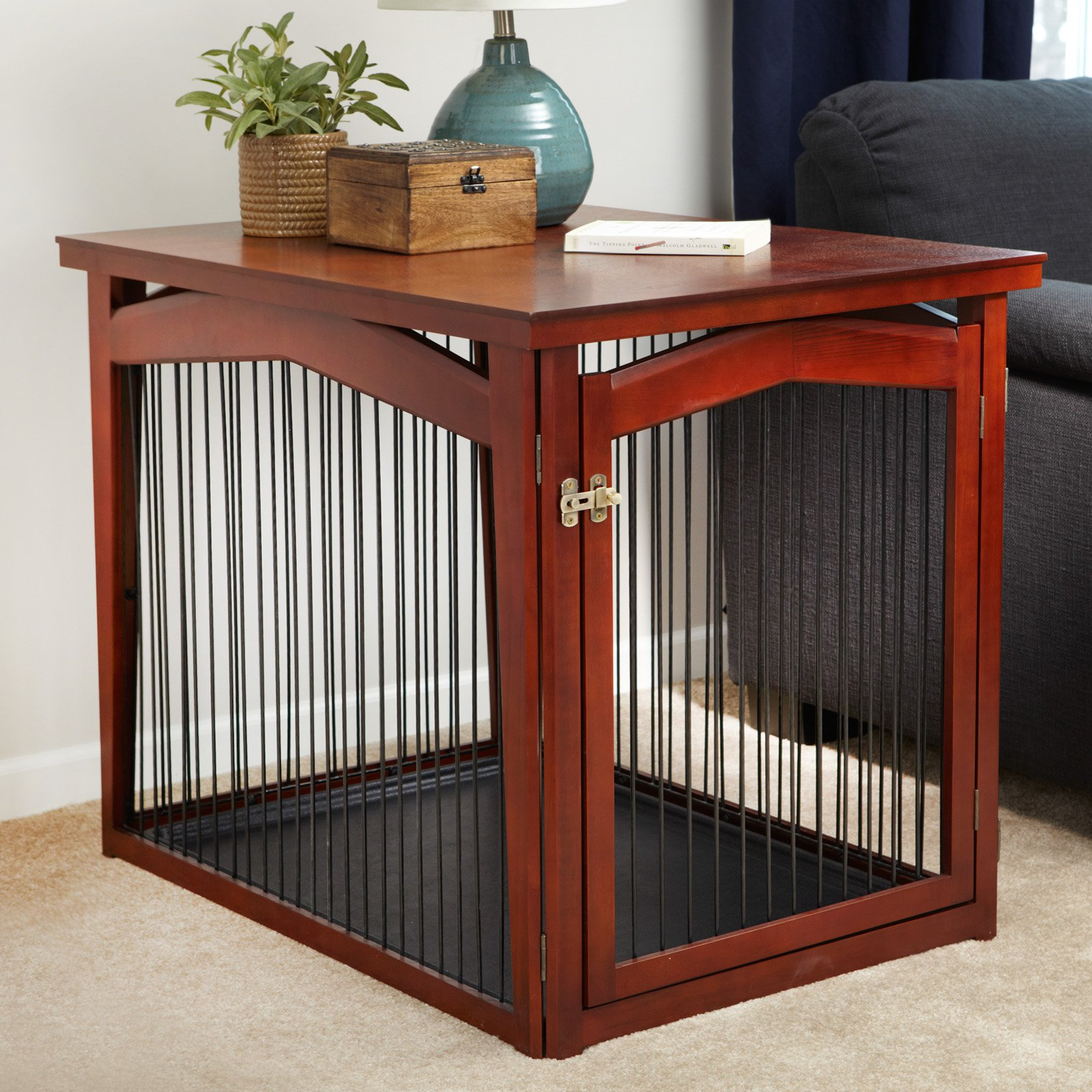 crate and gate large dog end table ethan allen shelf furniture victoria black sofa decorating ideas ashley bar sets tempered glass top server kitchen leons decorative floor lamp