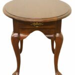 cresent furniture solid cherry queen anne oval end table tables macys console stoney creek coffee homesense large mirrors wire outdoor chairs house hampton glass top replacement 150x150