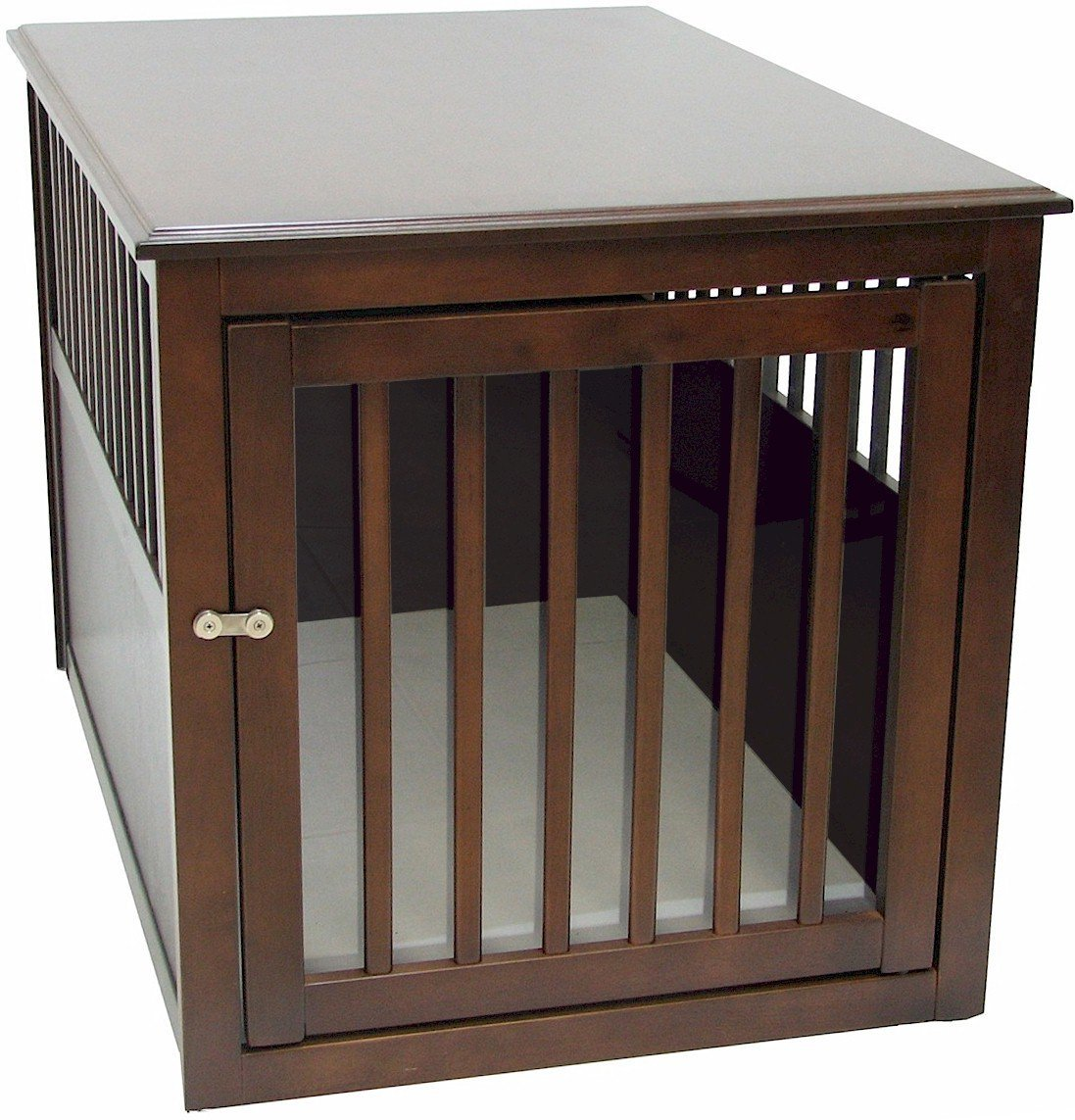 crown pet products crate wood dog furniture small end table large size with espresso finish supplies outdoor wicker accent dining sofa kmart living room well made bedroom oriental