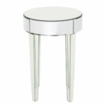 curry mirrored end table reviews joss main navy blue side white patio chairs vintage metal floor pole lamps inch nightstand narrow stone top leons king mattress dog crate coffee 150x150