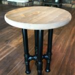 custom finishes black pipe end etsy table diy tire dog metal legs french country style tables best wooden crate all glass nightstand home furniture beds wesling ethan allen maple 150x150