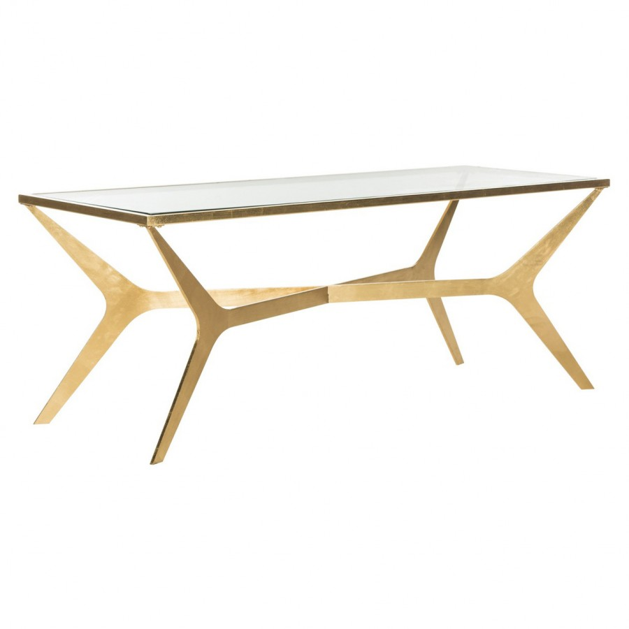 decor market edythe gold leaf coffee table tables side end ashley furniture extended warranty rug placement whalen regency computer return desk stanley build bedside west elm