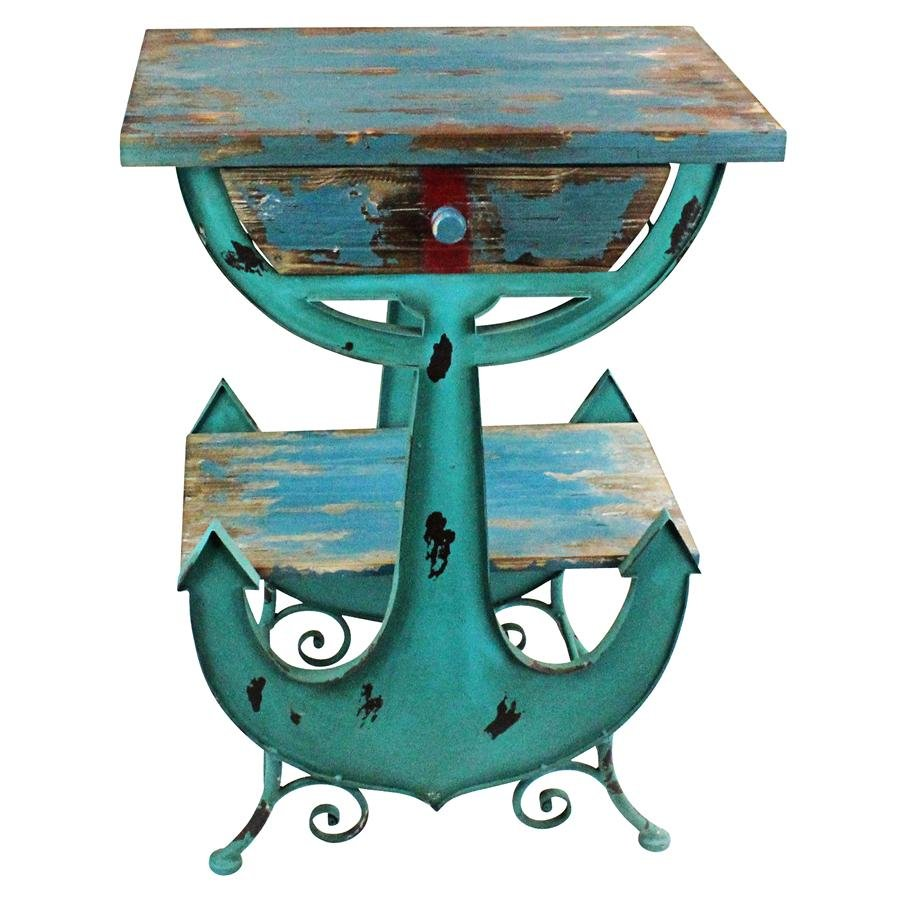 design toscano anchors aweigh coastal end table tables the wolf creek universal bolero dining black metal outdoor fancy bedroom sets solid wood coffee made usa pallets magazine
