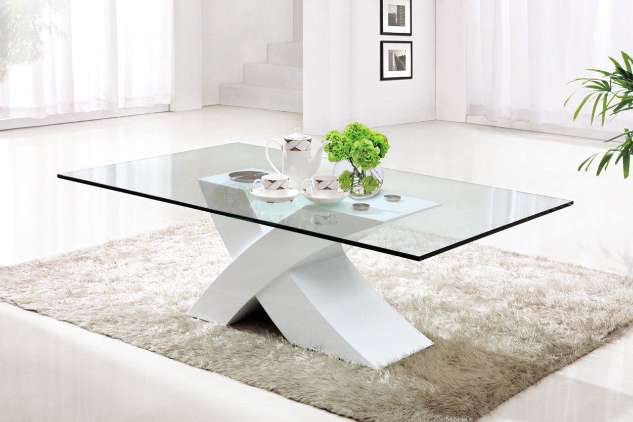 designer modern glass coffee table contemporary tables cool with stainless steel and end bathroom space saver making metal legs sauder palladia furniture office chair broyhill