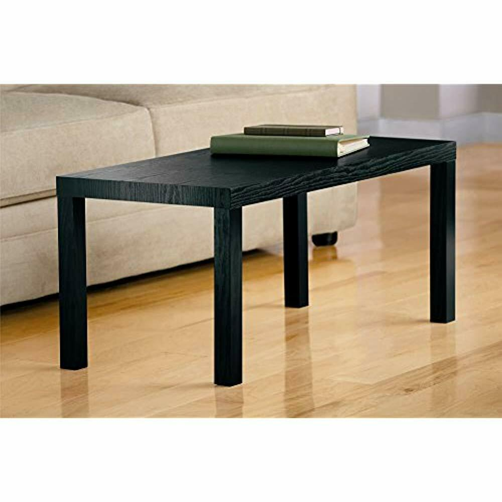 dhp parsons modern coffee table black wood grain for end diy pallet chair instructions retro corner dining with glass center wooden dog kennel kits stand altra and tables piece