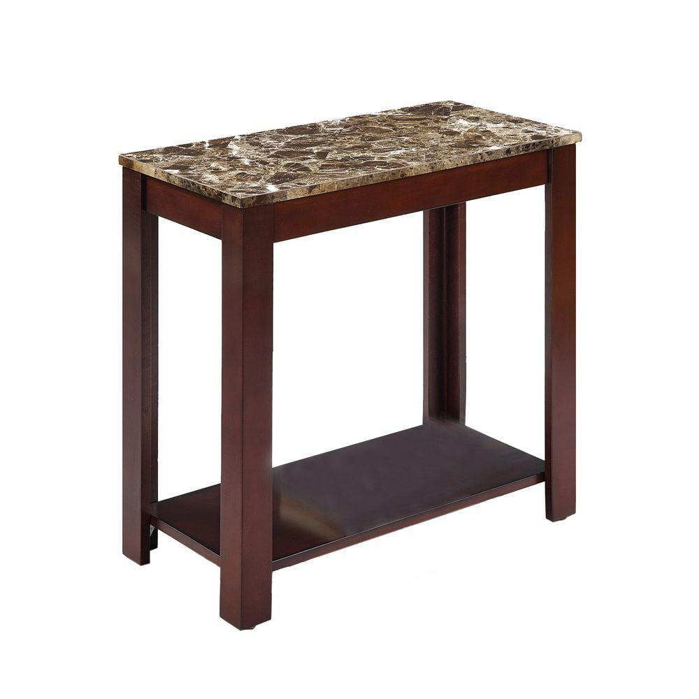 dhp rosewood coffee end table the brown ore international tables tall espresso distressed furniture colors nightstands shaker nightstand glass top with brass legs mission style