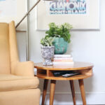 different ways style end table round coffee and decor ideas cabin chairs broyhill planter legends sausalito narrow rustic console liberty furniture traditions fontana dining room 150x150