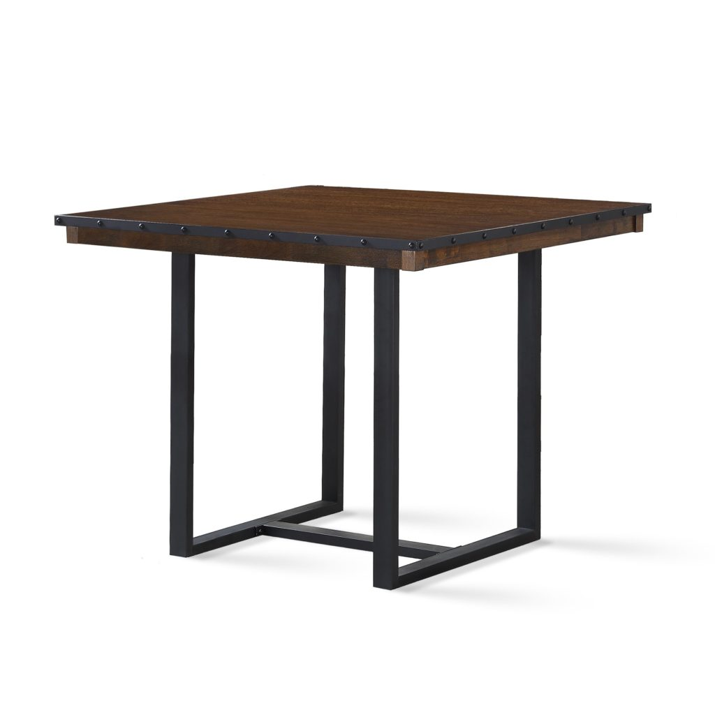 dining room interesting end table height for your living decor brown wood square with black metal base design today normal rules sofa arrangement homesense mattress diy dog crate