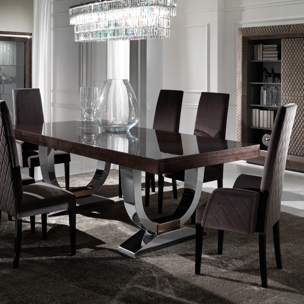dining room set luxury kitchen table sets glass top modern corner and chairs exclusive furniture high end full size lamp with shelves west elm credenza coffee rectangle small teal