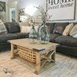 diy board farmhouse coffee table shanty chic free plans end oval ikea nightstand conduit fittings accent furniture jofran side tures antique tables kmart living room chairs gray 150x150