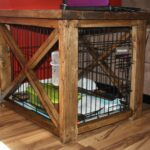 diy dog crate covers rustic end table cover kennel large pallet ideas pulaski furniture quality broyhill outdoor patio ashley coffee with storage queen anne and tables tempered 150x150